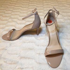 Jessica Simpson Endeena Nude Sandals Sz 9.5